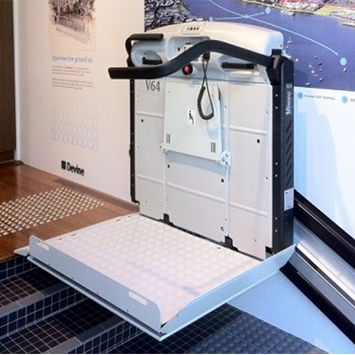 wheelchair stair platform lift vimec