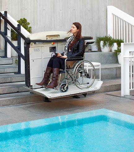 wheelchair stair platforms lifts